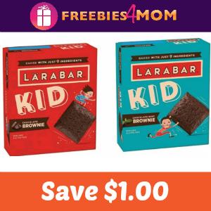 Coupon: Save $1.00 on LÄRABAR Kid Brownie