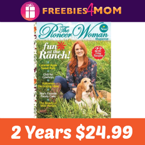 2 Years of The Pioneer Woman $24.99