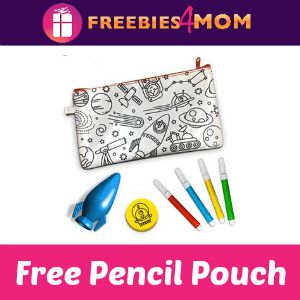 Free Color Your Own Pencil Pouch at JCPenney