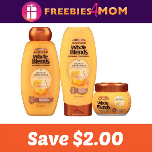 Coupon: Save $2.00 on Garnier Whole Blends