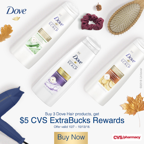 Dove Haircare at CVS