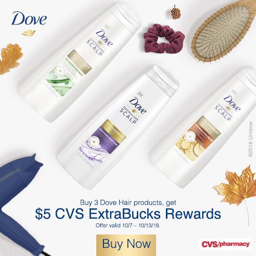 Dove Haircare at CVS