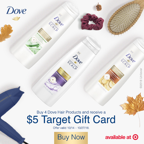 Dove Haircare at Target