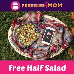 Free Wendy's 1/2 Sized Harvest Chicken Salad