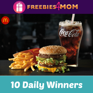 Sweeps Coca-Cola McDonald's Arch Card