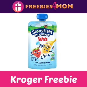 Free Stonyfield Organic Kids Pouch at Kroger
