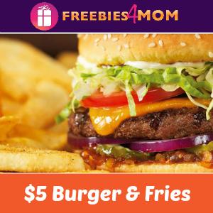 $5 Cheeseburger & Bottomless Fries at Red Robin