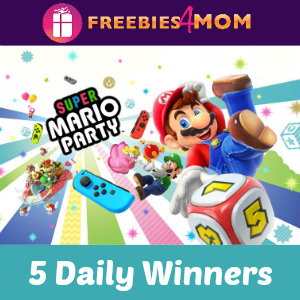 Sweeps Lunchables Mario Party
