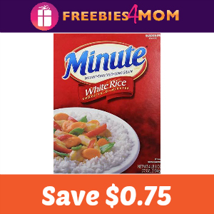 Coupon: Save $0.75 on one Minute Instant Rice