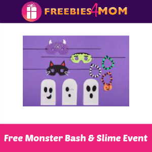 Free Kids Monster Bash & Slime at Michaels