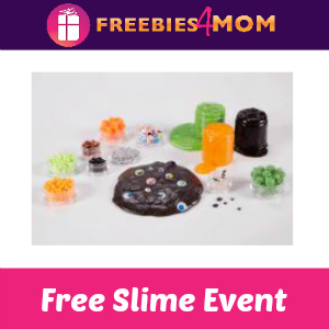 Free Spooky Slime Event at Michaels Oct. 13