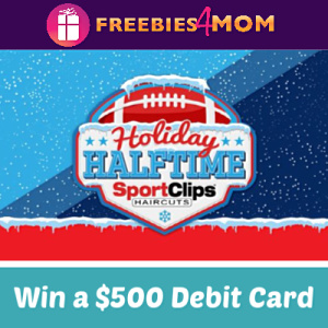 Sweeps Sport Clips Holiday Halftime