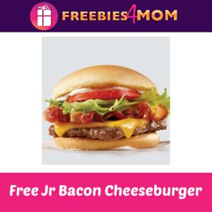 Free Jr Bacon Cheeseburger at Wendy's