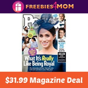 People Magazine $31.99 ($0.59 per issue)