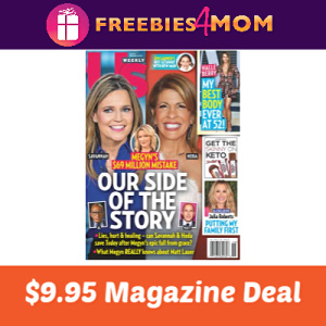 Magazine Deal: Us Weekly $9.95