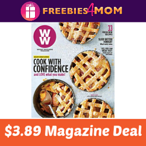 Magazine Deal: Weight Watchers $3.89