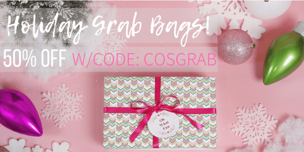 50% off Holiday Grab Bags (thru 11/21)