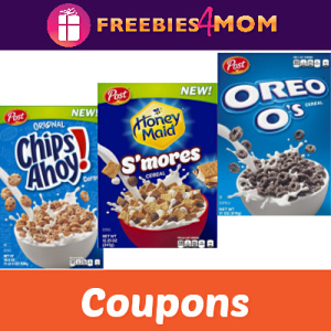 Cereal Coupons: Chips Ahoy, Oreo & More!