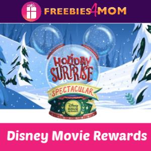 Earn Disney Movie Rewards Daily Thru Dec. 25