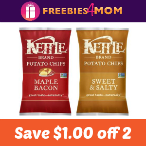 Coupon: Save $1.00 on 2 Kettle Brand products