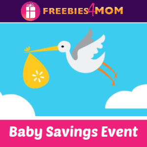 Walmart Baby Savings Day Feb. 23