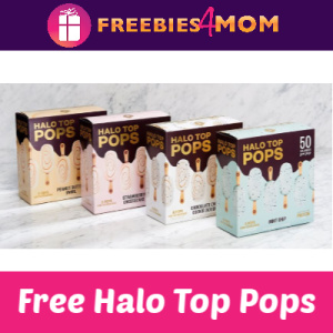 Free Halo Top Pops July 21 (11 am CST)