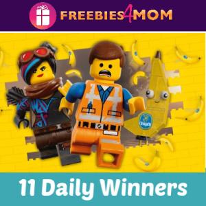 Sweeps Chiquita LEGO Movie 2