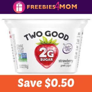 Coupon: Save $0.50 on Two Good Greek Yogurt
