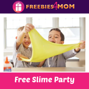 Free Slime Party at Michaels March 24