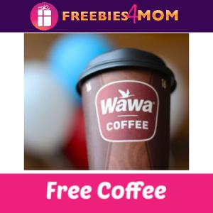 Free Coffee at Wawa April 11