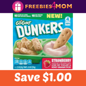 Coupon: Save $1.00 on Go-GURT Dunkers