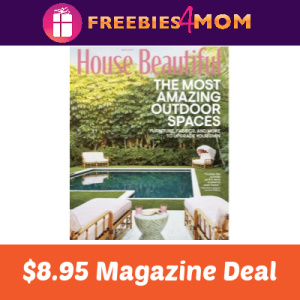 Magazine Deal: House Beautiful $8.95