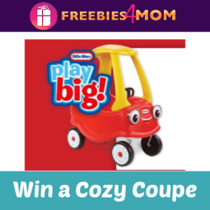 Sweeps Sun-Maid Little Tikes Cozy Coupe