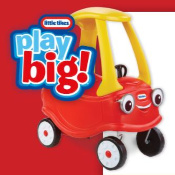 Sun-Maid Little Tikes Cozy Coupe