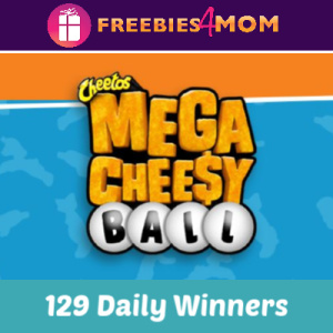 Sweeps Kroger Cheetos Mega Cheesy Ball