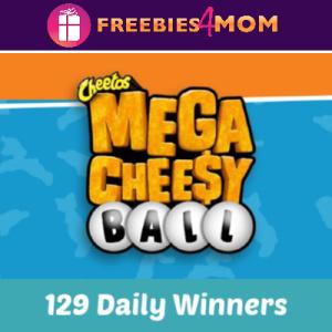 Sweeps Kroger Cheetos Mega Cheesy Ball