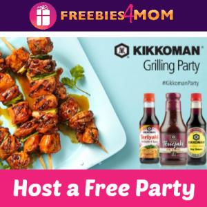 Free Kikkoman Grilling House Party