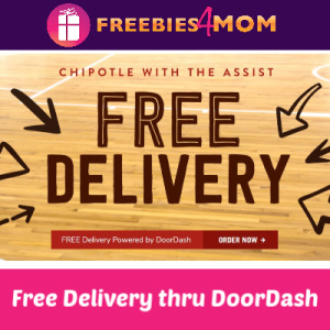 Free Chipotle DoorDash Delivery ($10+ orders)