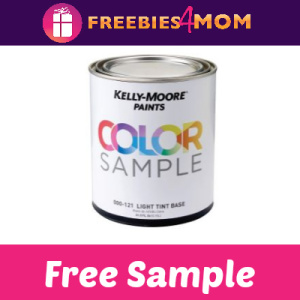 Free Kelly-Moore Color Sample Quart (CA, NV, OK and TX)