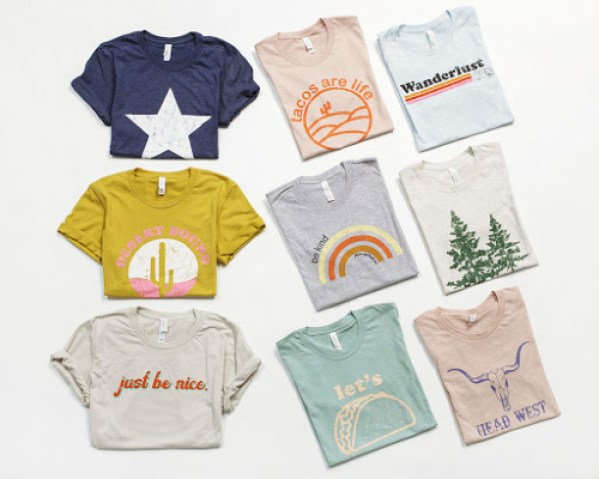 $16.95 Graphic Tees ($29.95 Value)