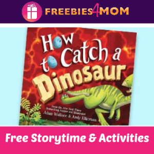 Free How To Catch a Dinosaur Storytime