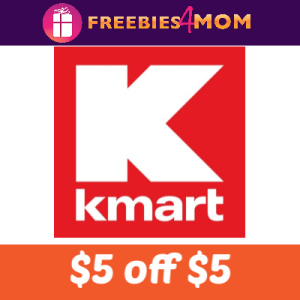 $5 off $5+ School Gear Purchase at Kmart