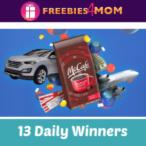 Sweeps McCafé IWG (13 Daily Winners)