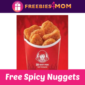 Free Wendy's Spicy Nuggets thru DoorDash