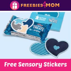 Free Rice Krispies Treats Sensory Love Note Stickers