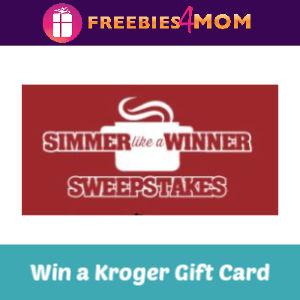 Sweeps Kroger Simmer Like a Winner