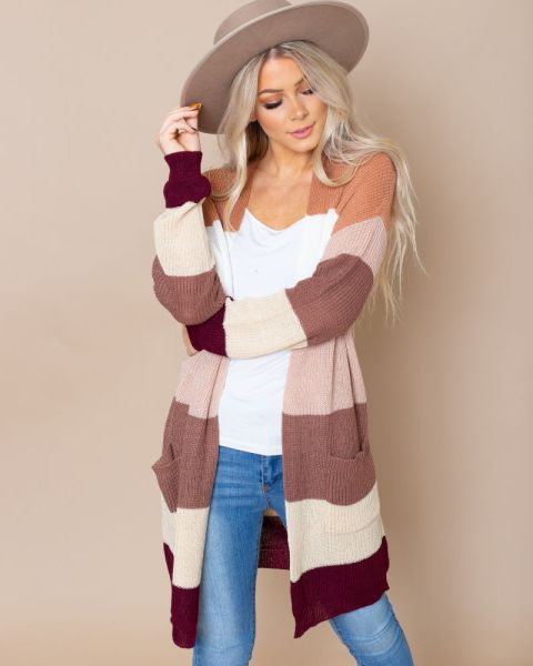 40% off Striped Cardigans