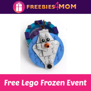 Free Lego Frozen Event at Jo-Ann 11/23