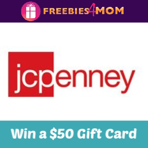 Win a $50 JCPenney Gift Card