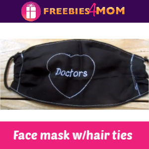 ✂️How to make a Face Mask with Elastic Hair Ties